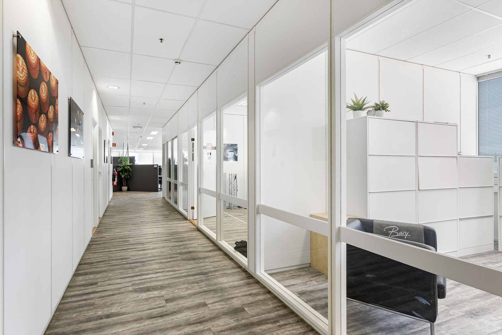 Lyse og moderne kontorlokaler