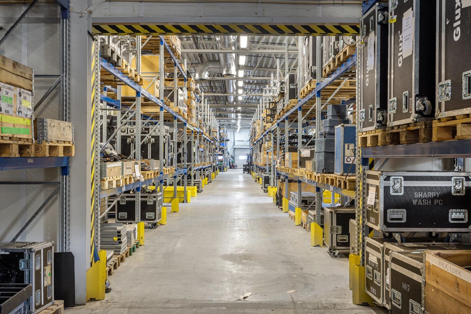 Effektive lagerlokaler