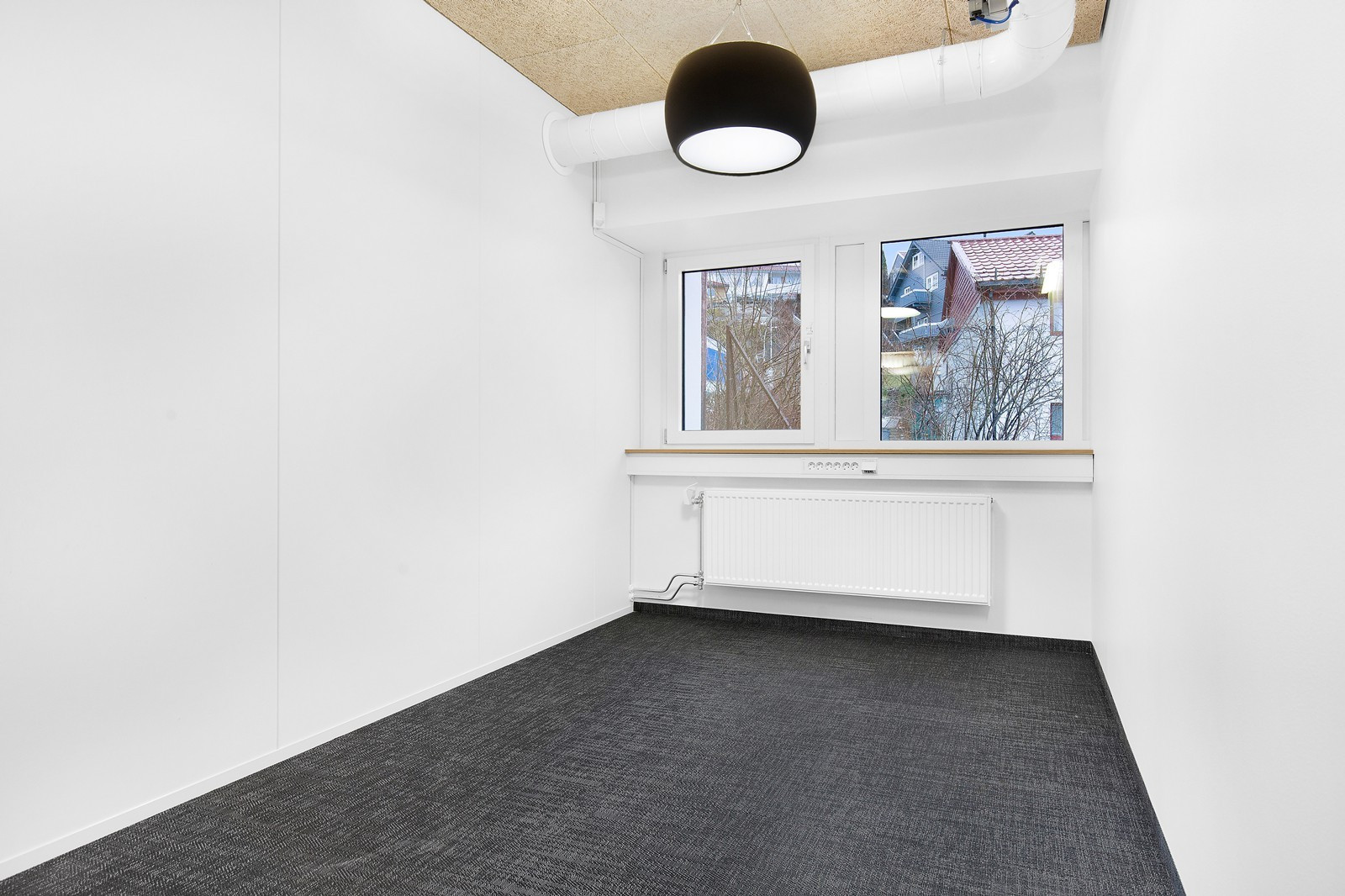 Eksempel kontor i 1. etasje.