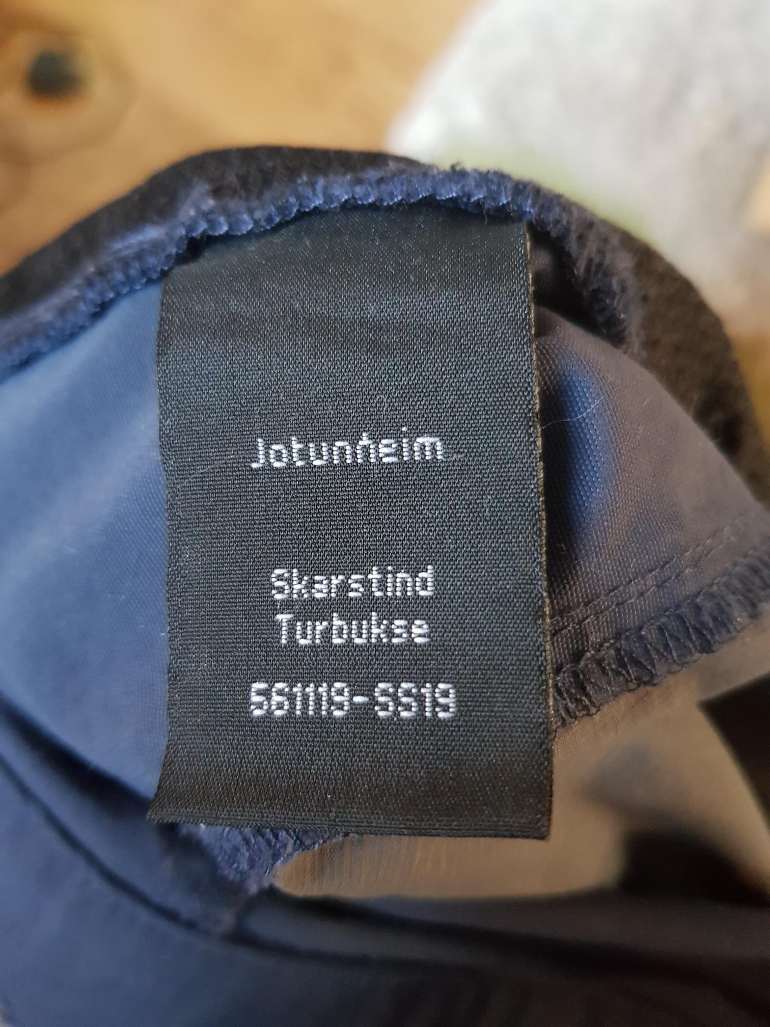 Jotunheim Skarstind turbukse selges | FINN.no