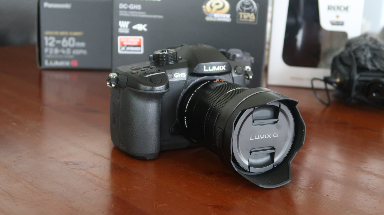 Profesjonelt kamera pakke med alt du trenger Panasonic GH5