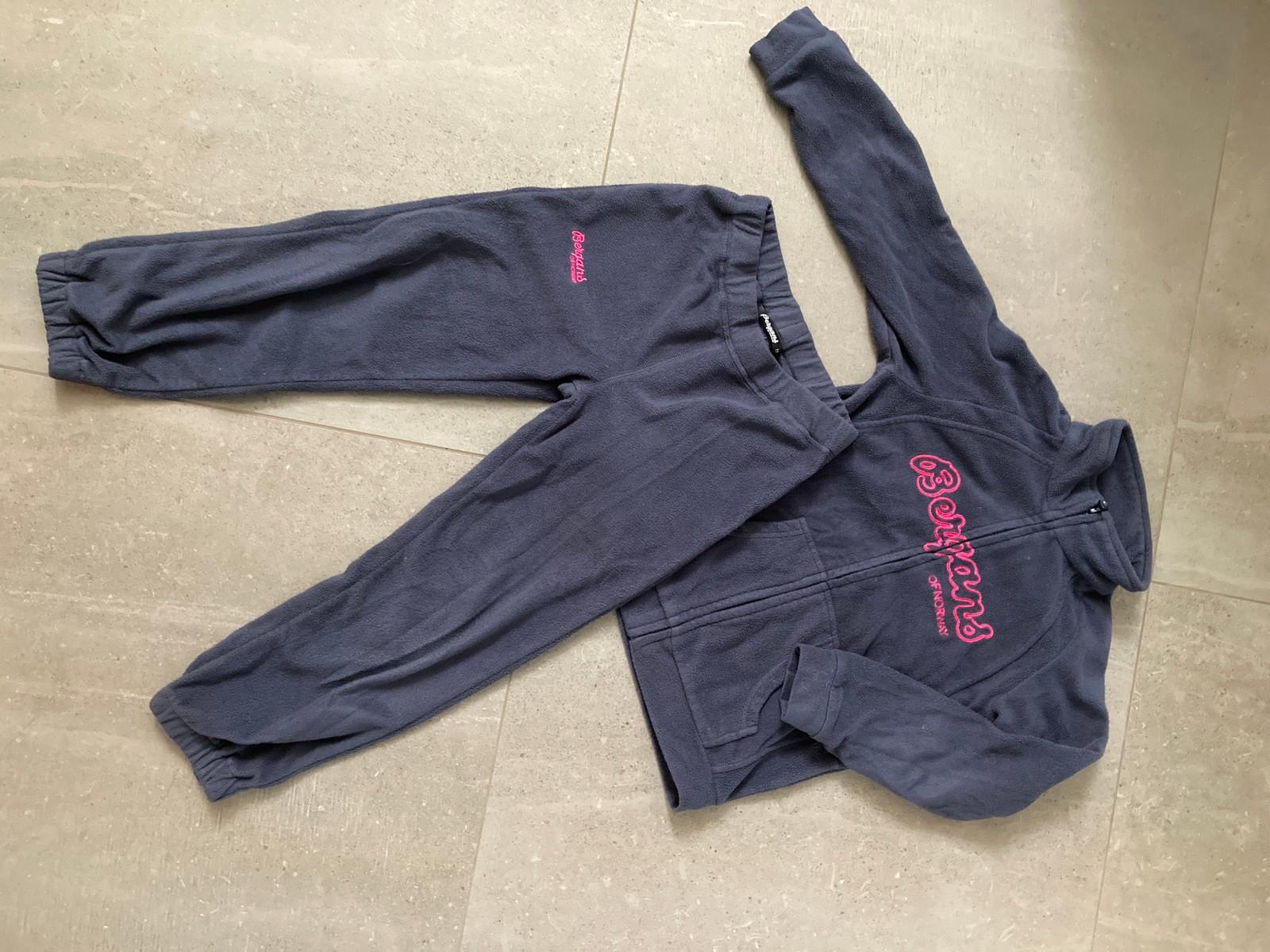 Bergans jakke og bukse 116 | FINN.no