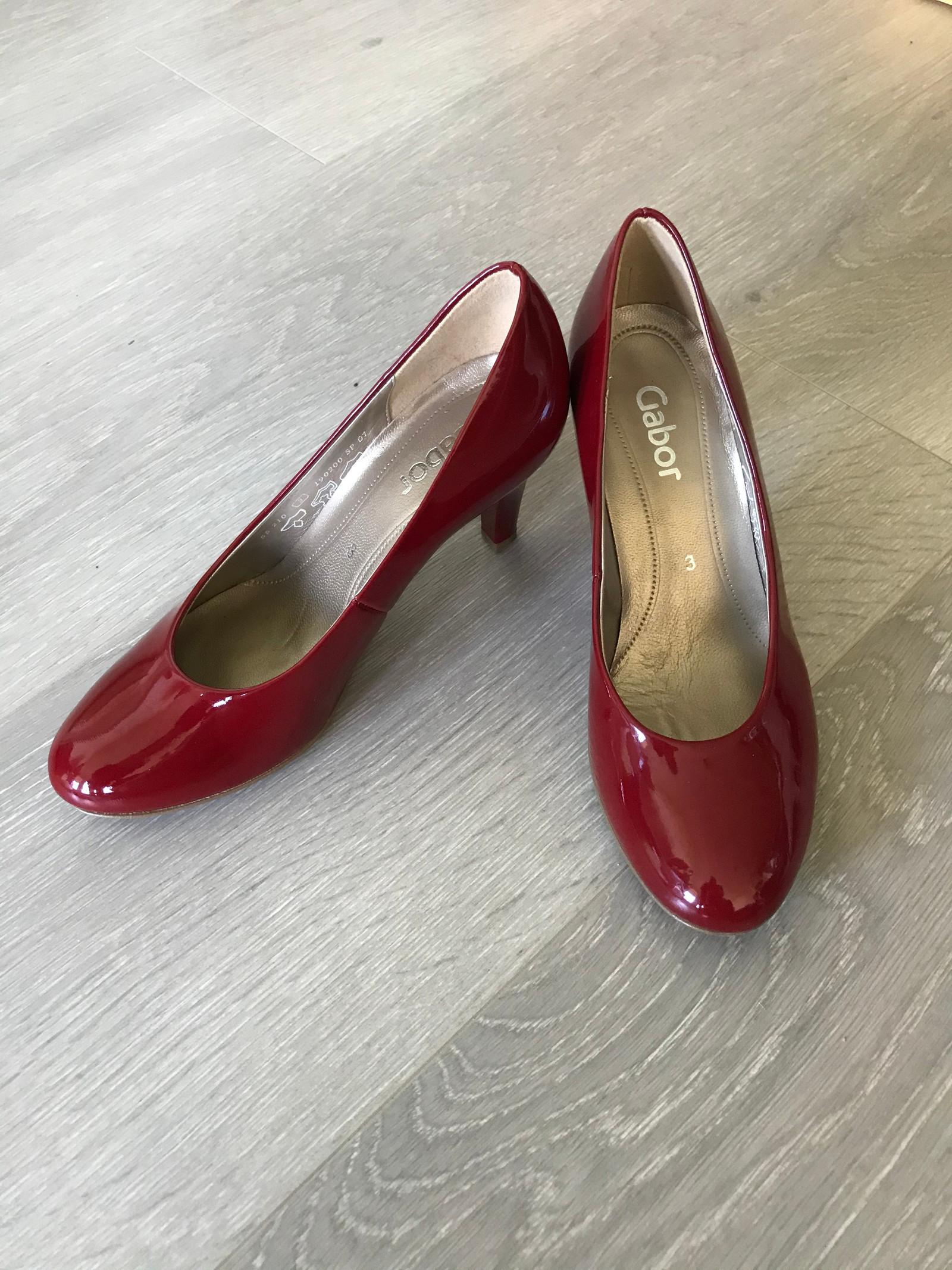 gabor sko rød