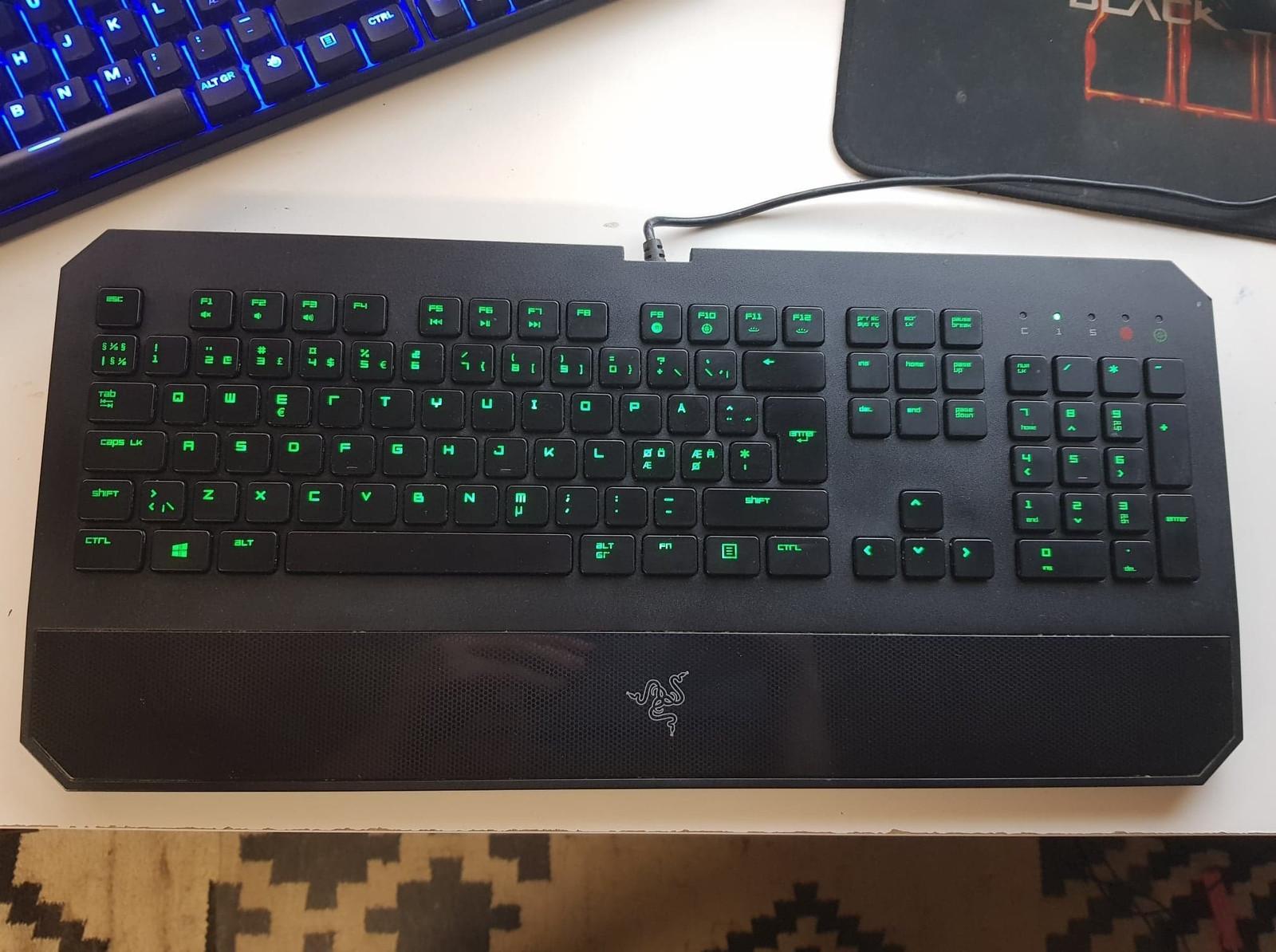 Razer DeathStalker Gaming Keyboard (nordisk