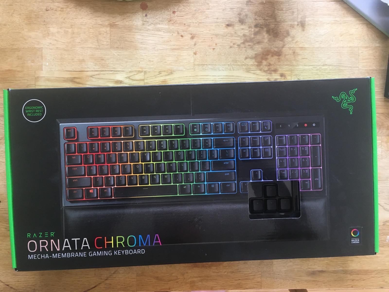 Razer ornata chroma gaming keyboard   FINN.no