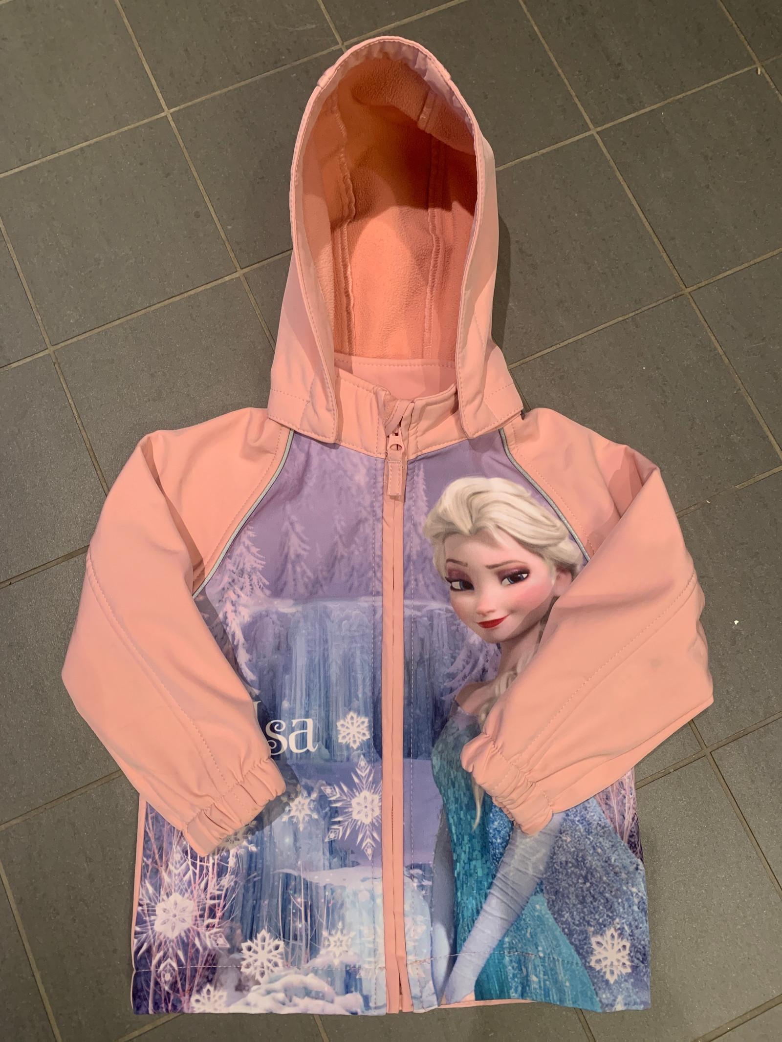 NY Elsa softshell jakke Str 86 | FINN.no