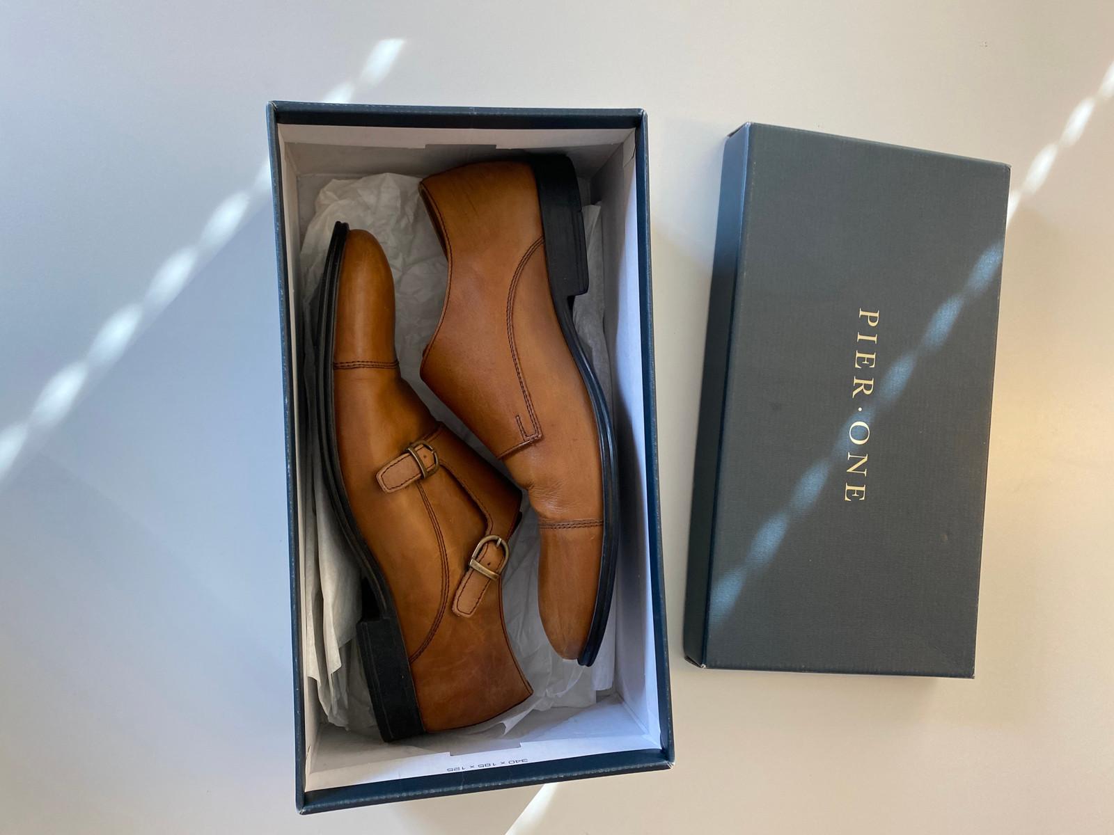 Pier One lysebrune dress sko str 42 | FINN.no