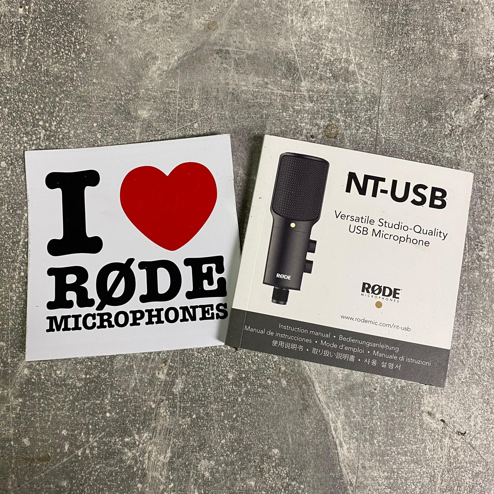Ferdig podcastpakke 4 Røde USB NT (USB Hub, Headset, mm