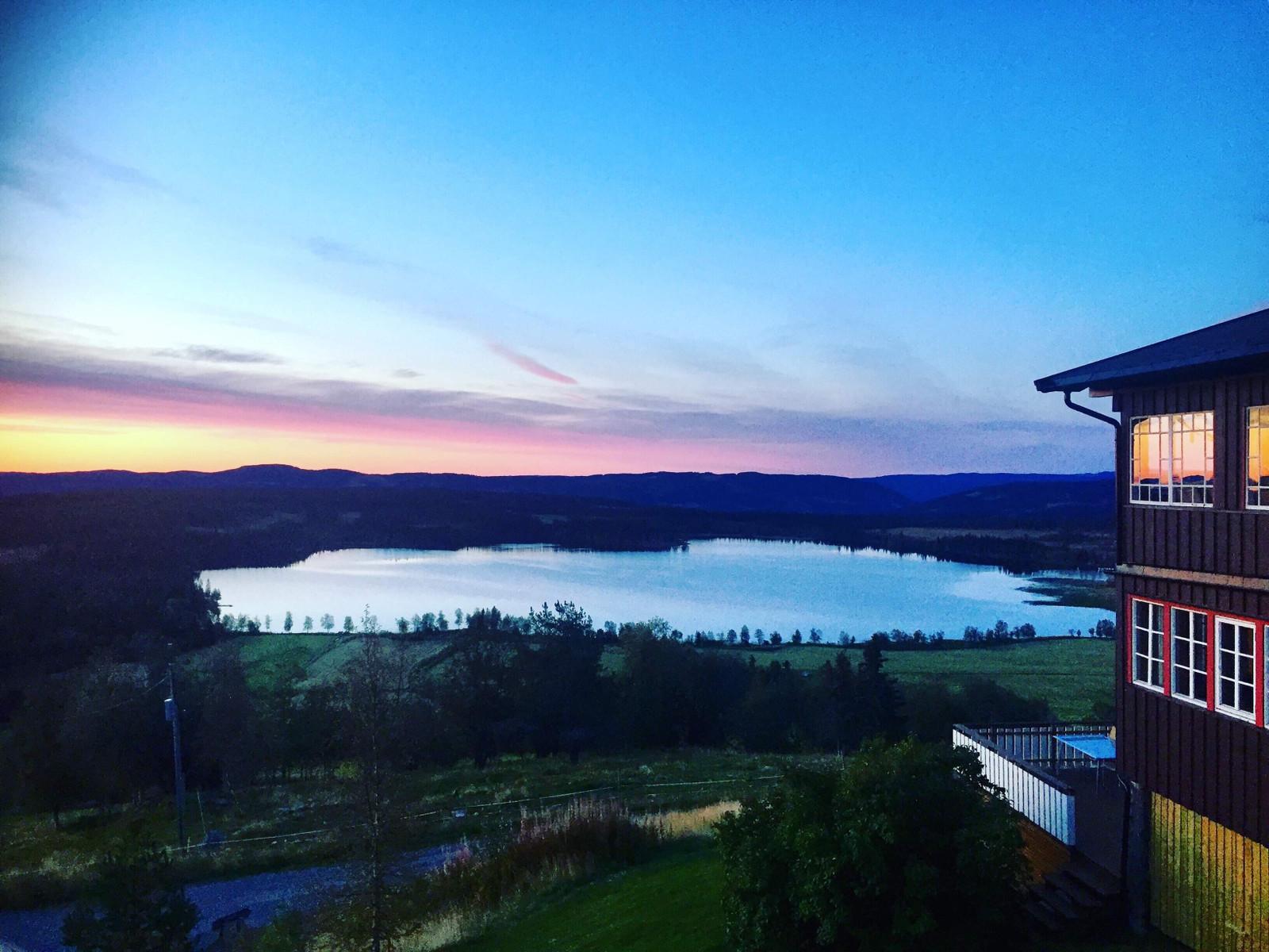 Panoramautsikt over Ullsjøen