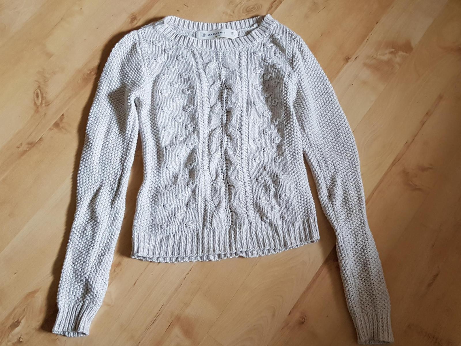 Zara perle genser str. S | FINN.no