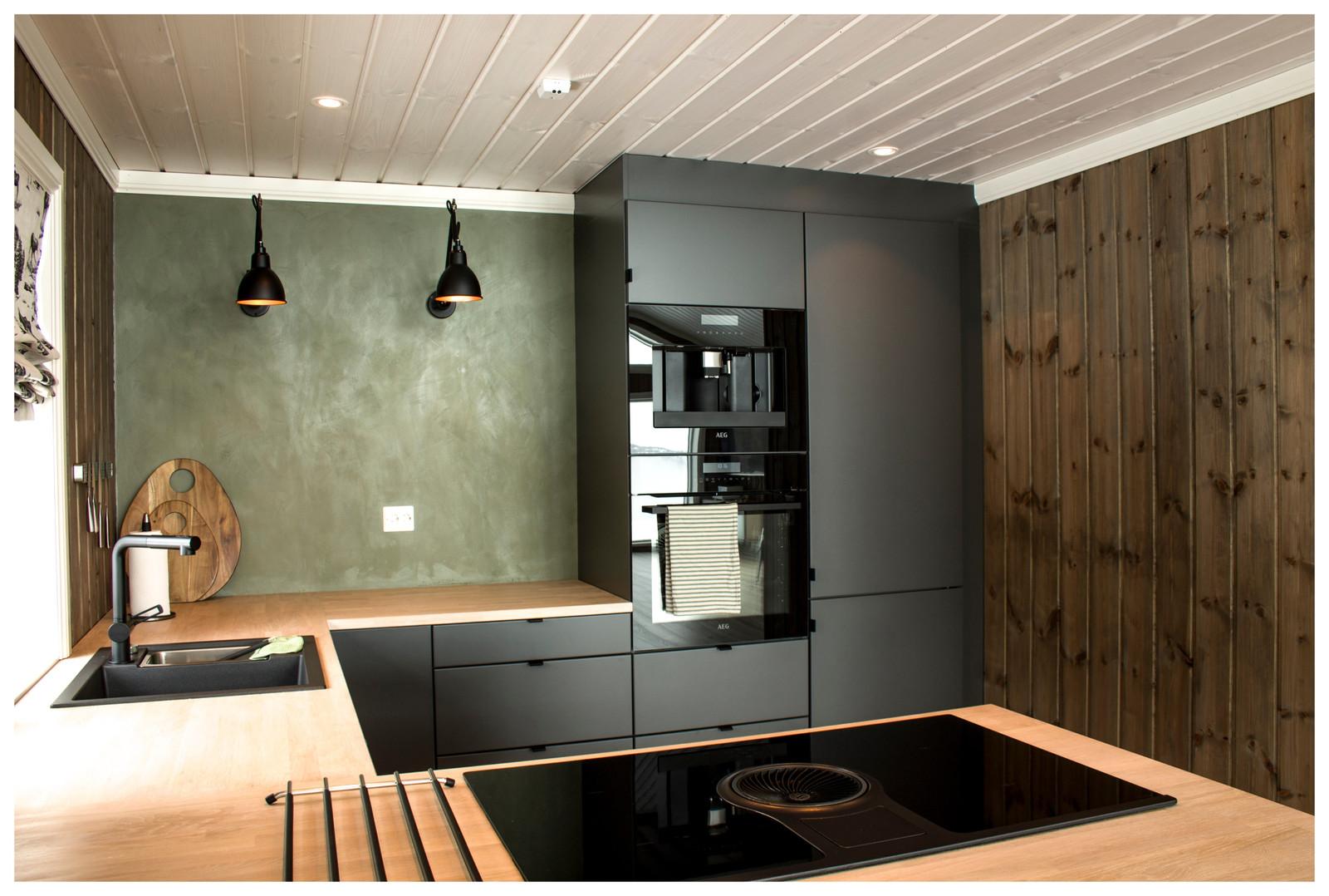 Kunde tilpassett Kjøkken og farger.