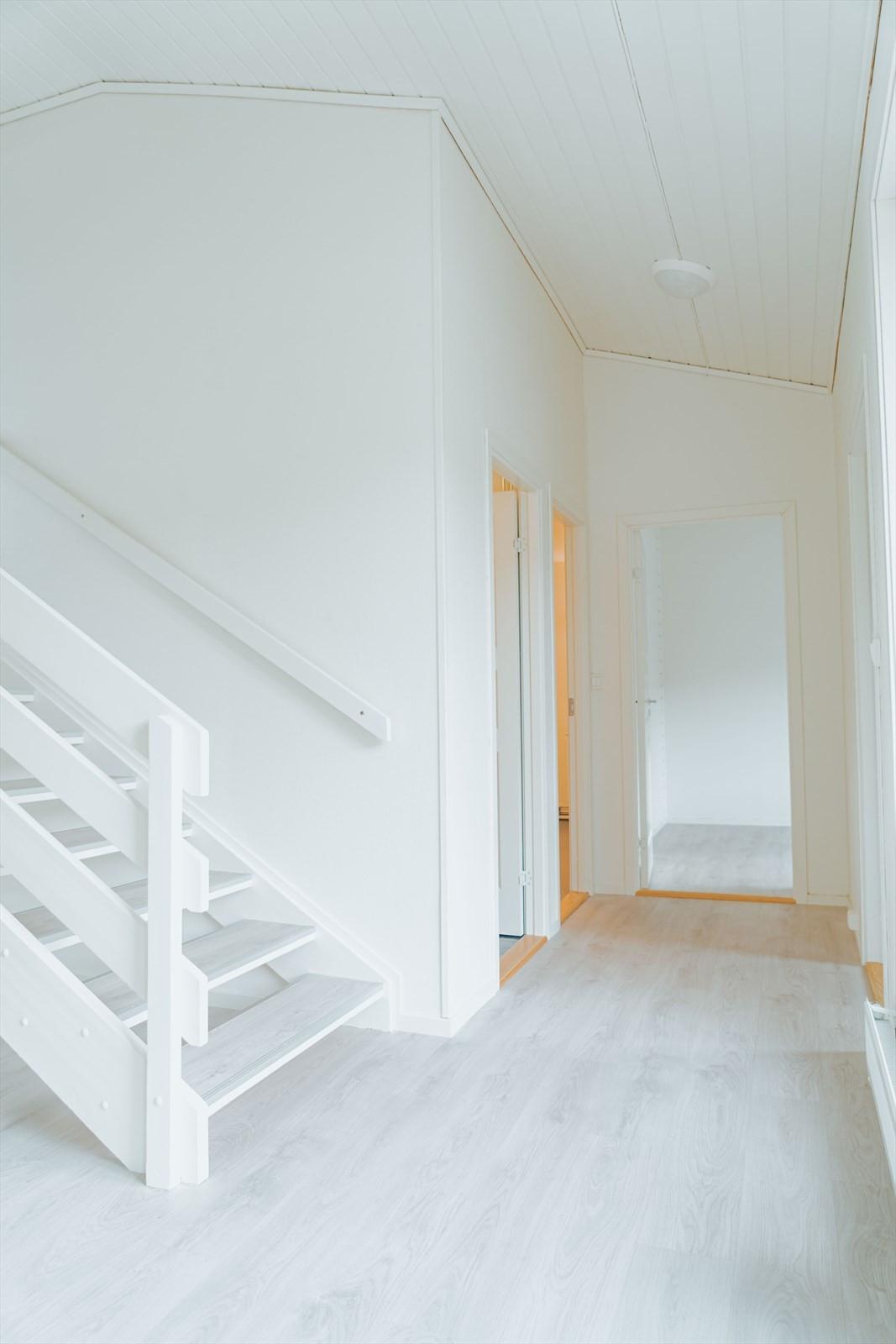 Nymalt og oppgraderte flater