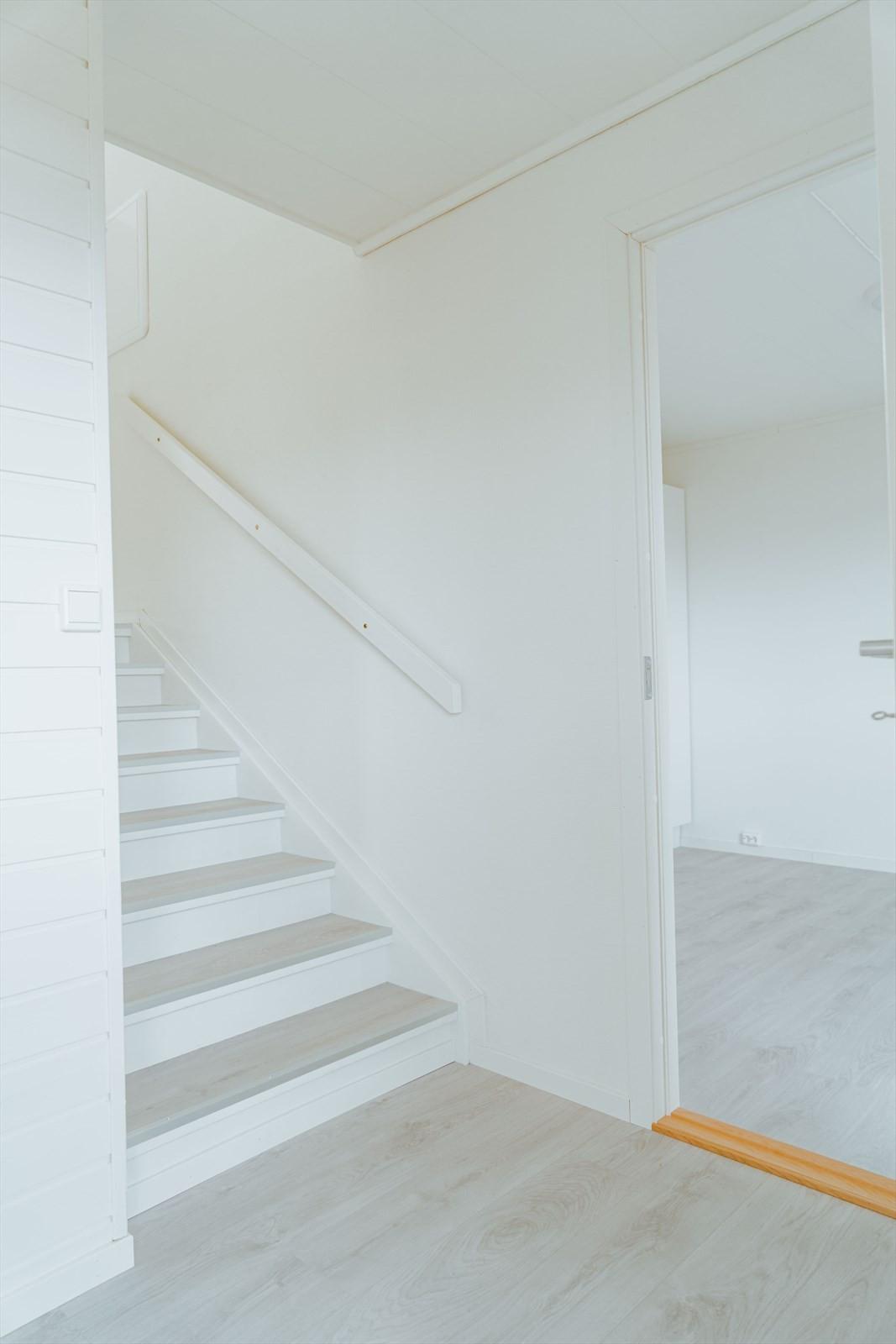 Trappegang ned til u. etasjen