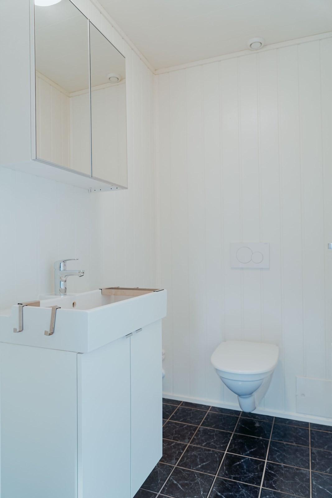 WC i 1. etasje
