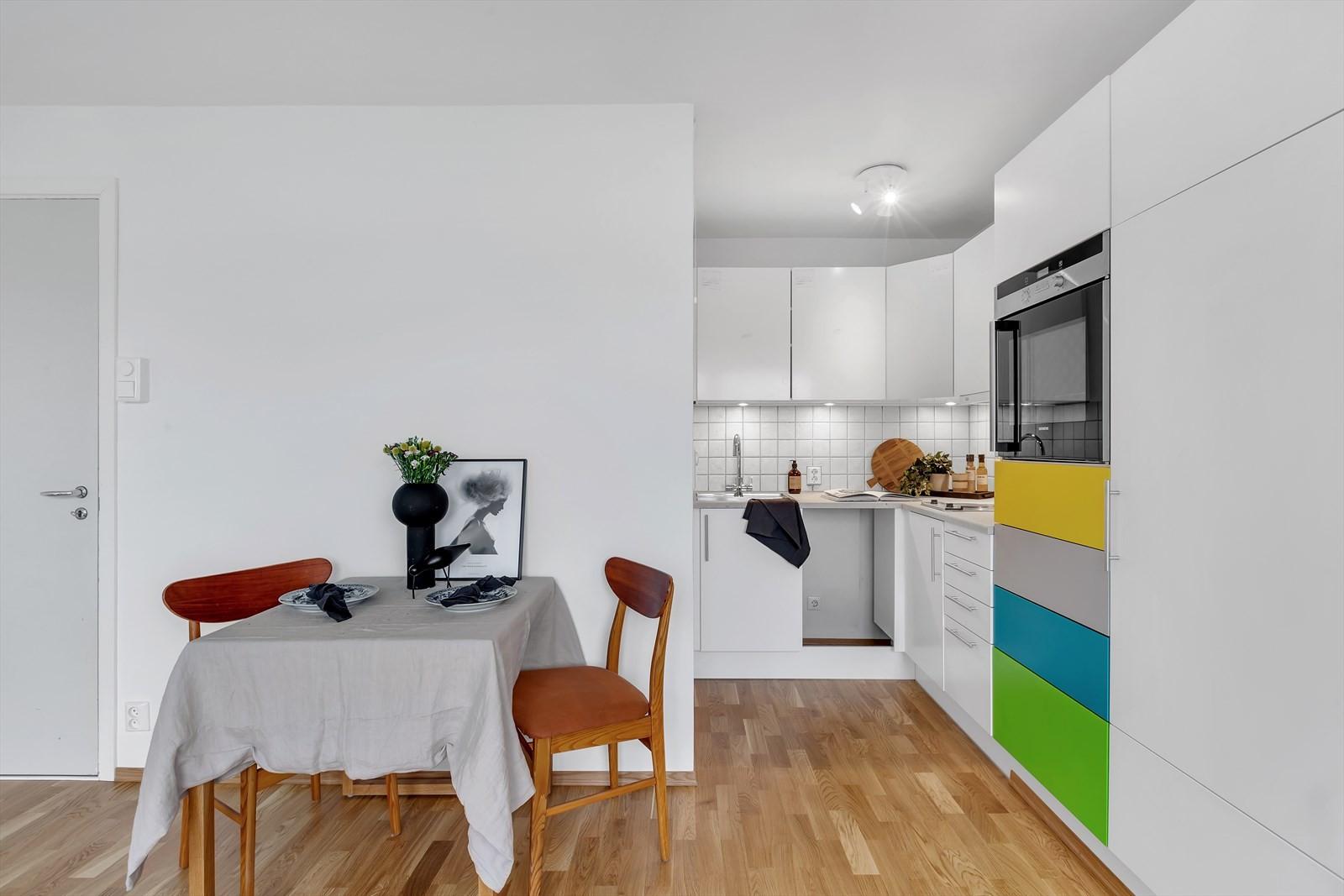 Koselig og praktisk kjøkken/spisestue