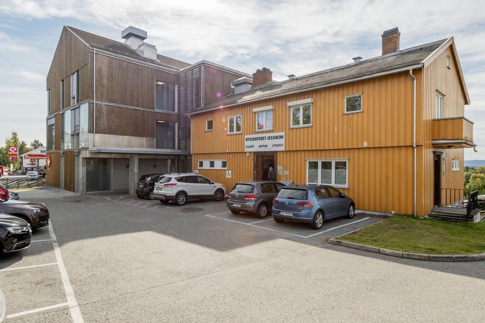 Parkering for eiendommens besøkende