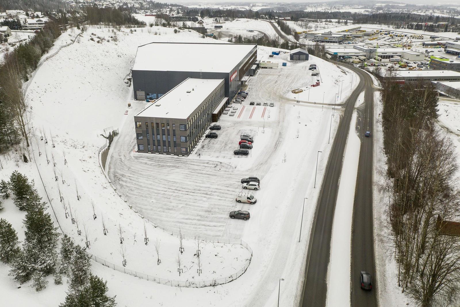 God adkomst direkte fra Trondheimsveien - ca. 1 min. til E6