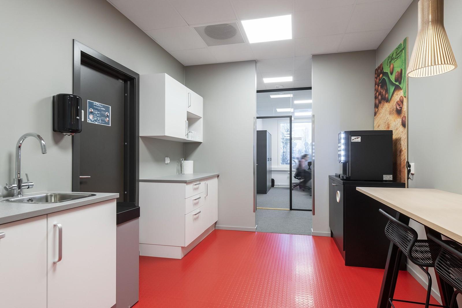 Ledig kontor - kjøkken
