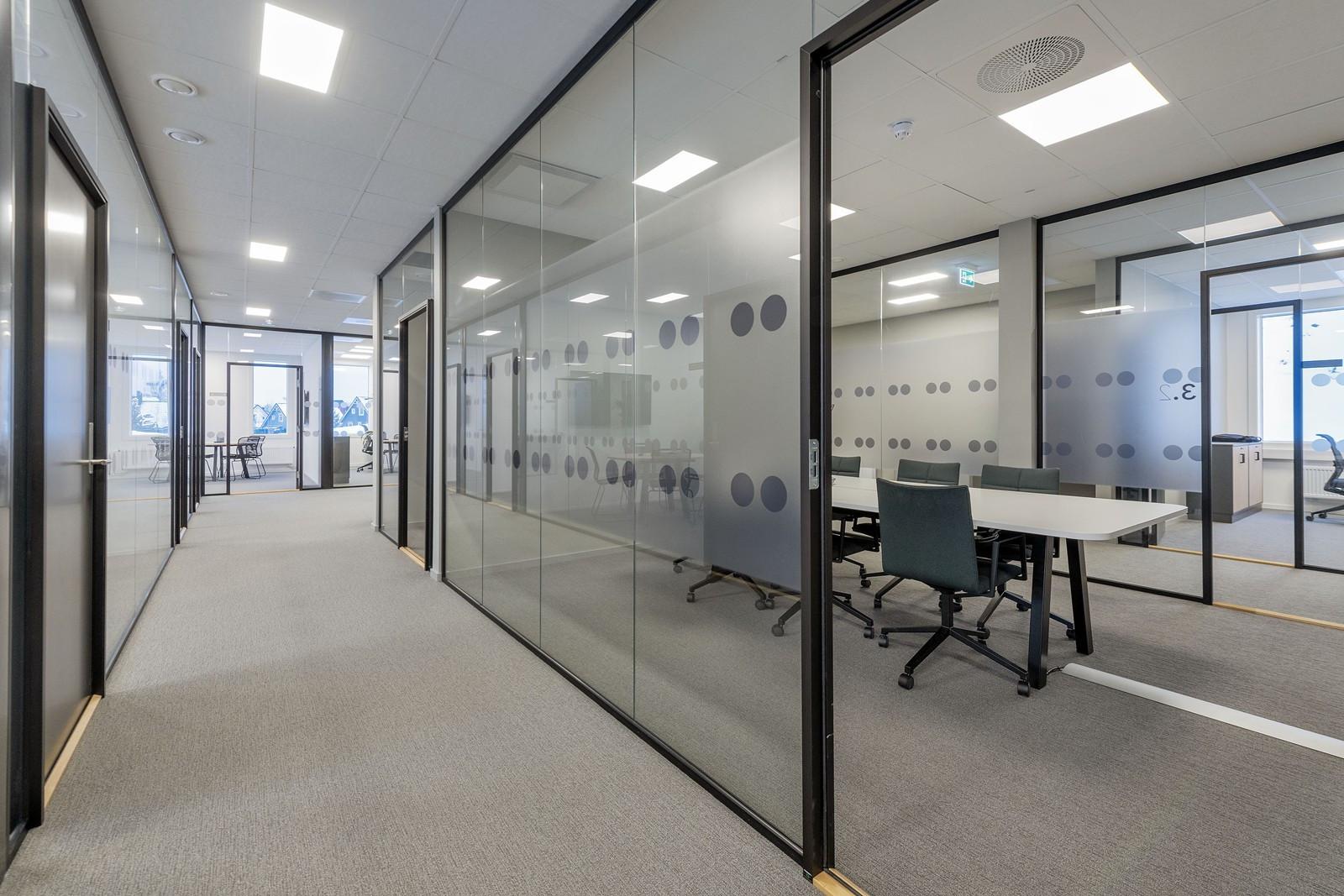 Ledig kontor 3. etasje - gangarealer og møterom