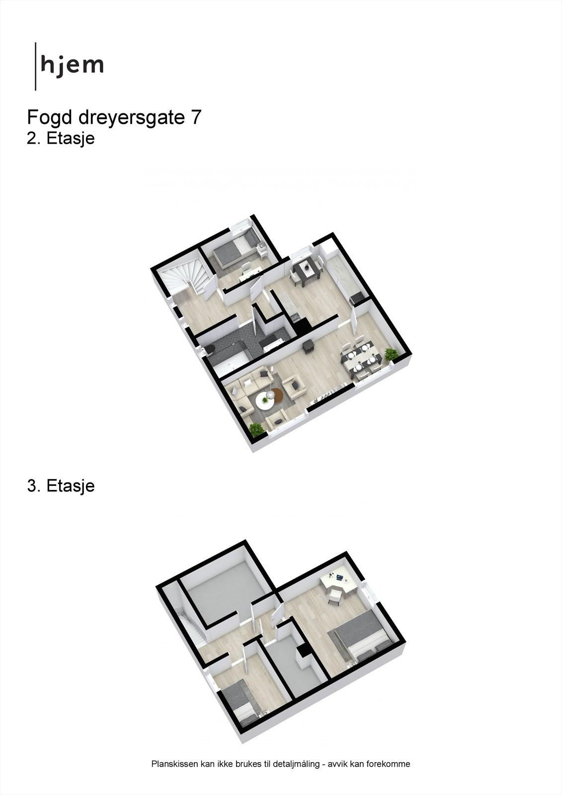 Fogd dreyersgate 7 - 3D - Combined