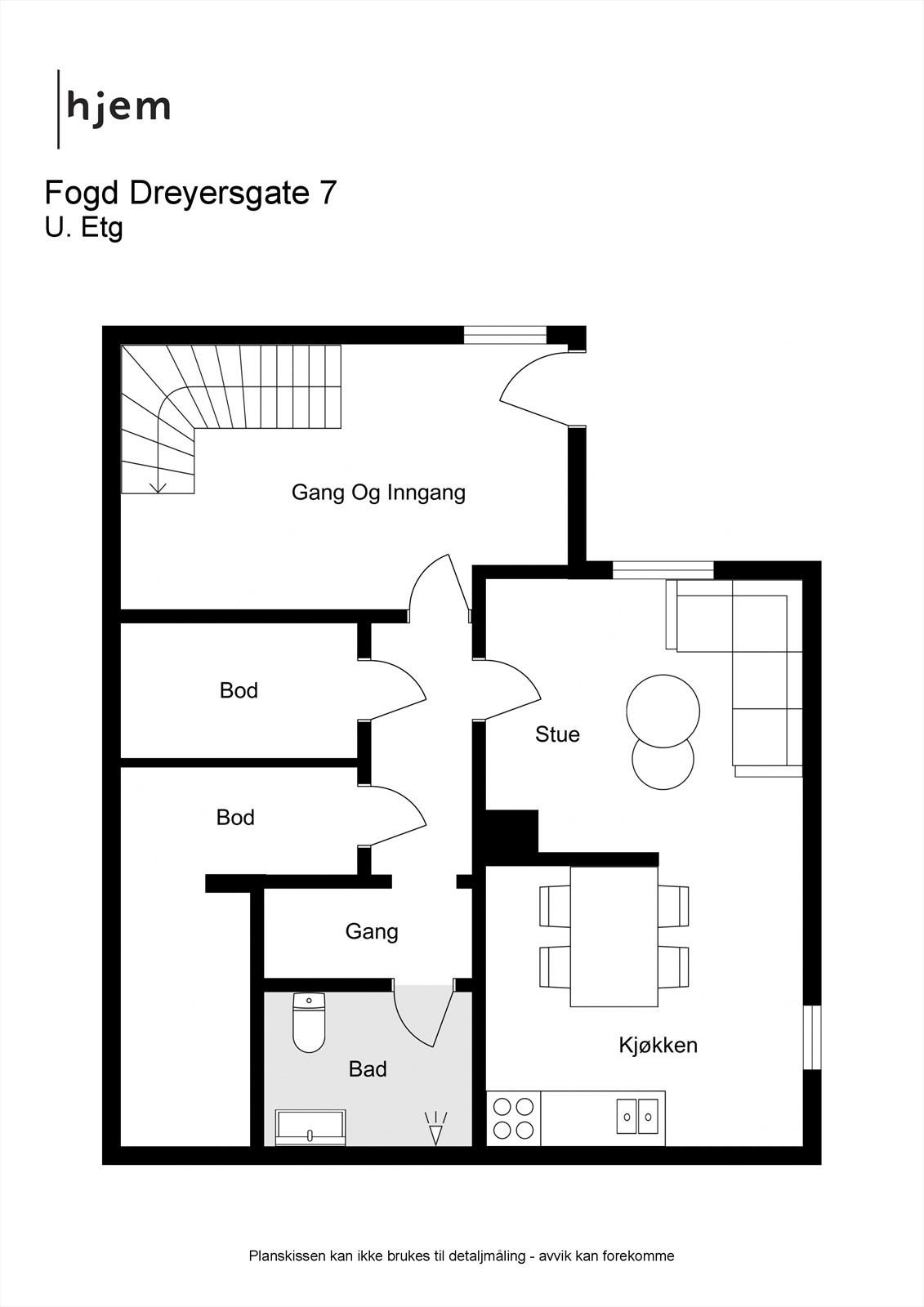 Fogd Dreyersgate 7 - 2D - U. Etg