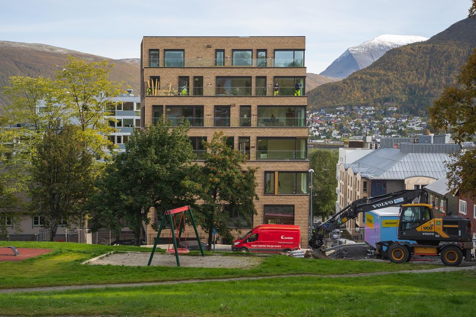 Bygget er nyskapende for Tromsø