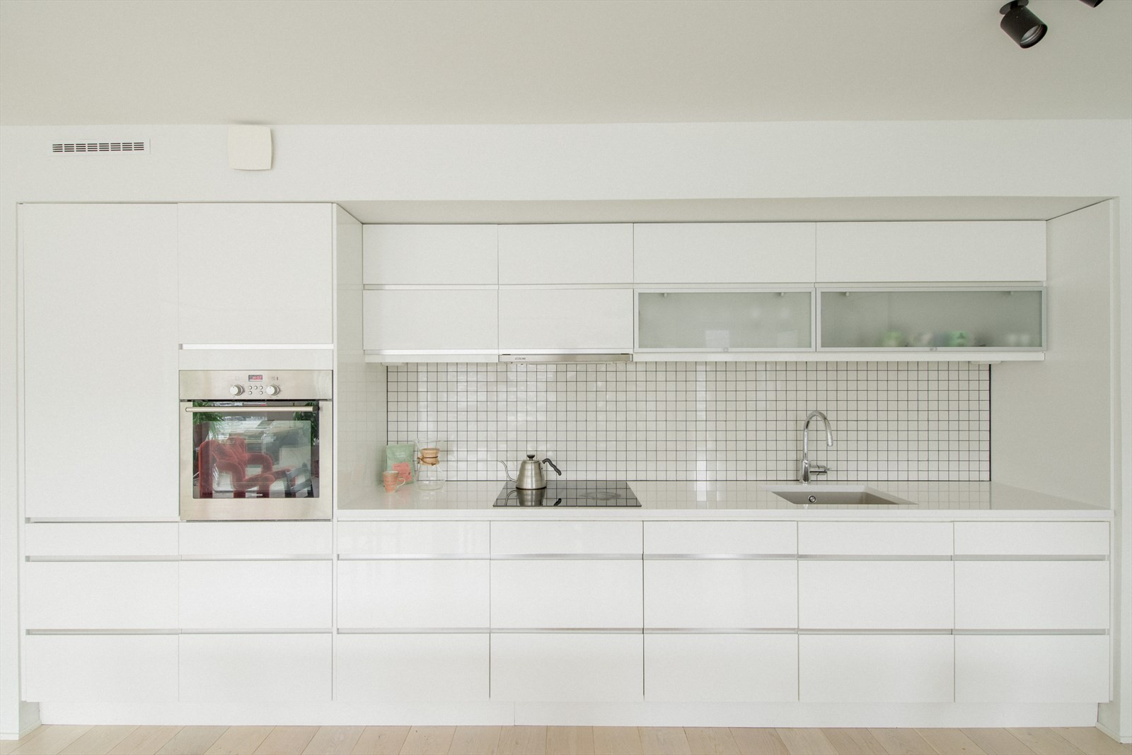Stilfullt kjøkken med god lagringsplass