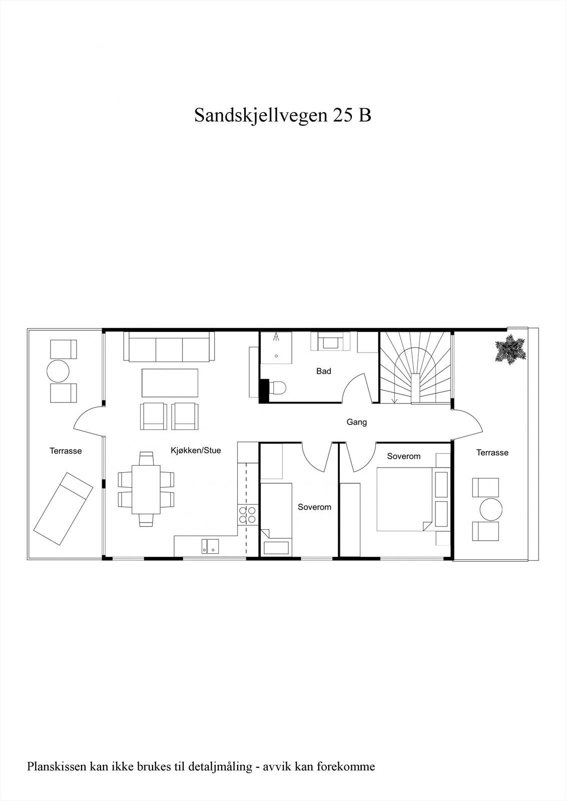 2-D planillustrasjon 2.etg