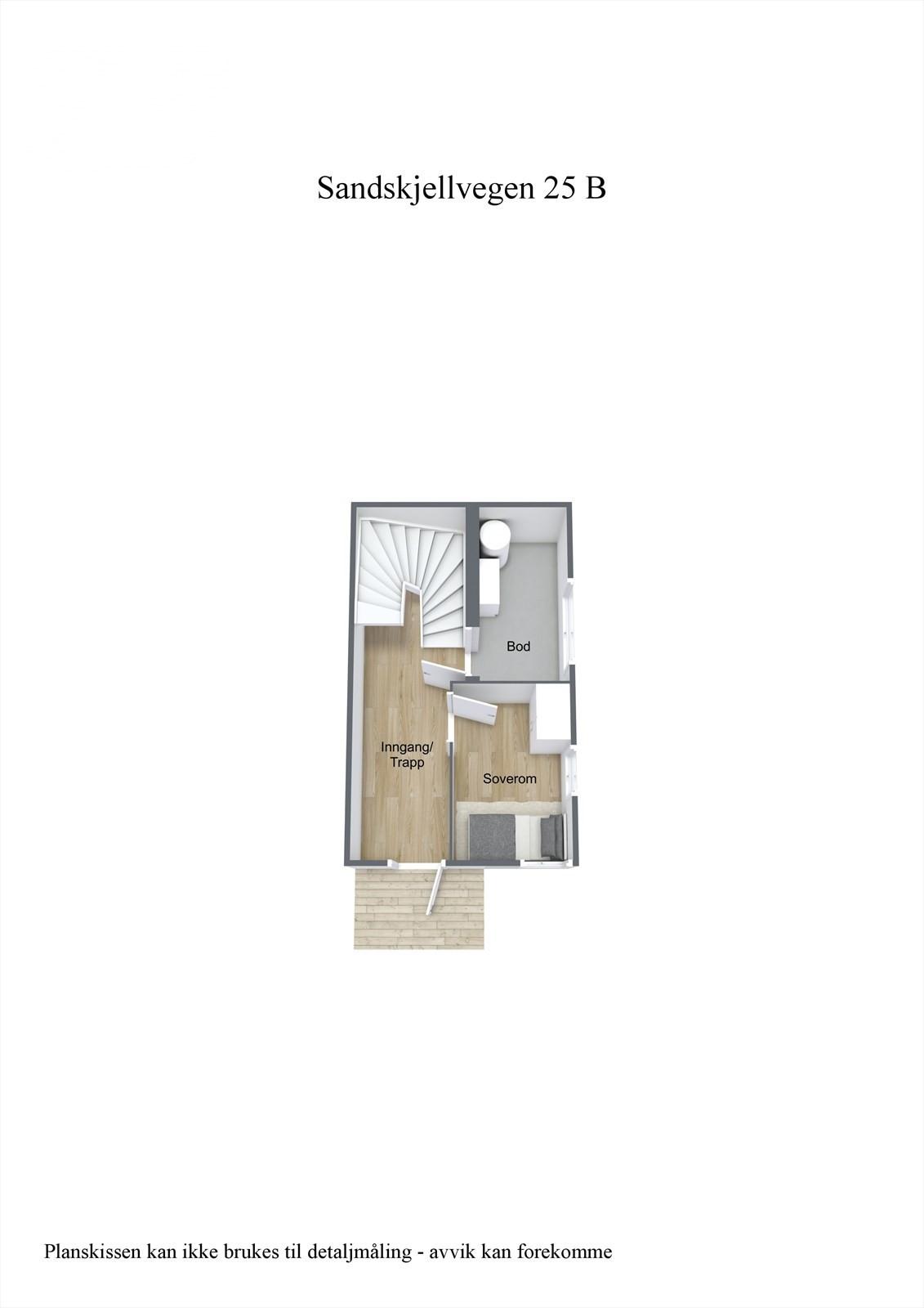 3-D planillustrasjon 1.etg
