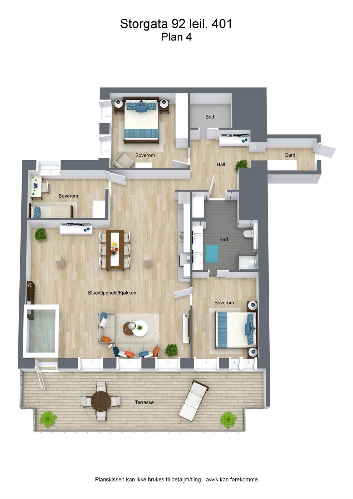 Floorplan letterhead - Storgata 92 leil. 401 - Plan 4 - 3D Floor Plan.jpg