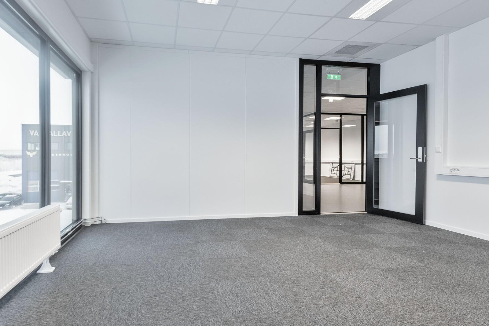 Innredet lokale - kontor/møterom med flott utsikt - BYGG 2