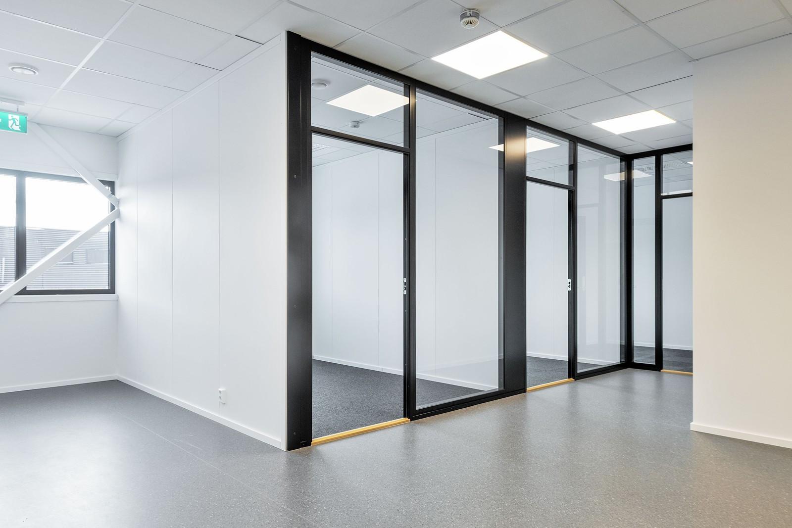 Innredet lokale - lyst kontorlokale med god standard - BYGG 2