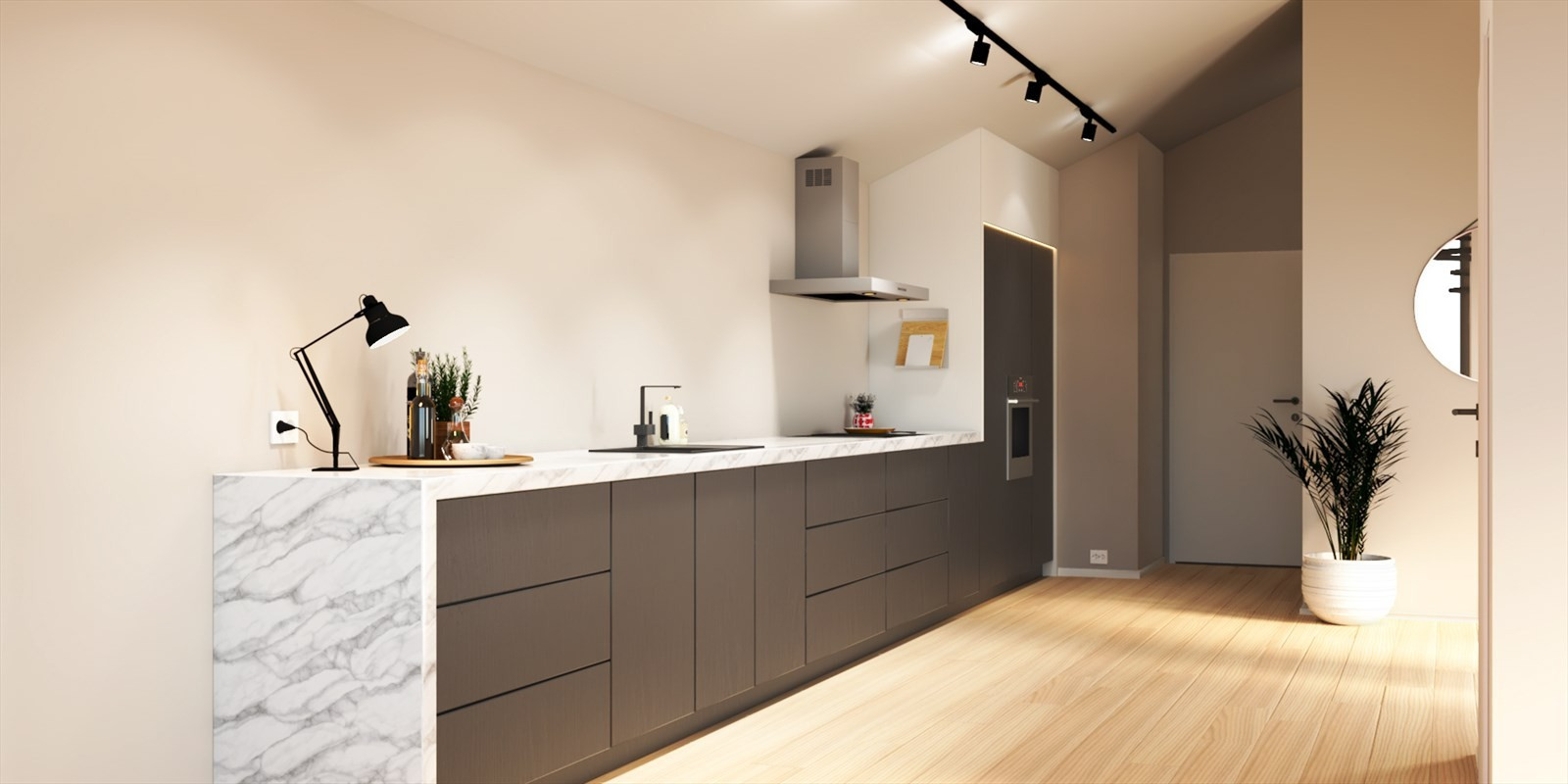 Kjøkken - seksjon D