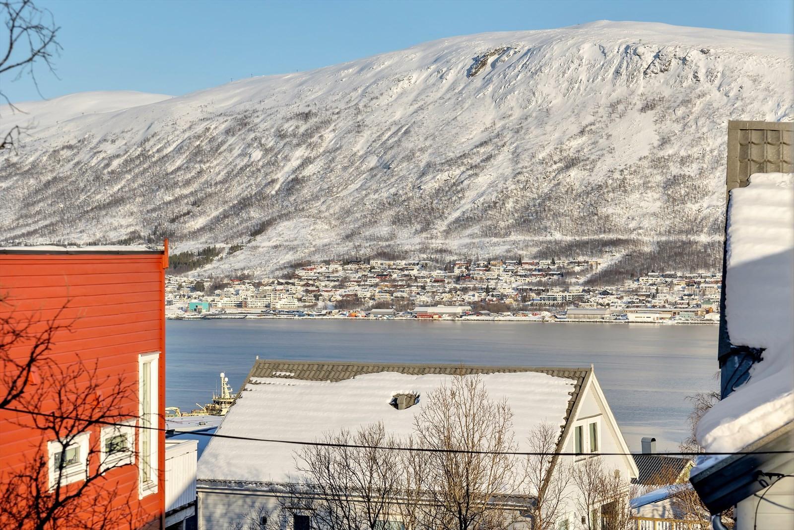 Utsikt fra hus C