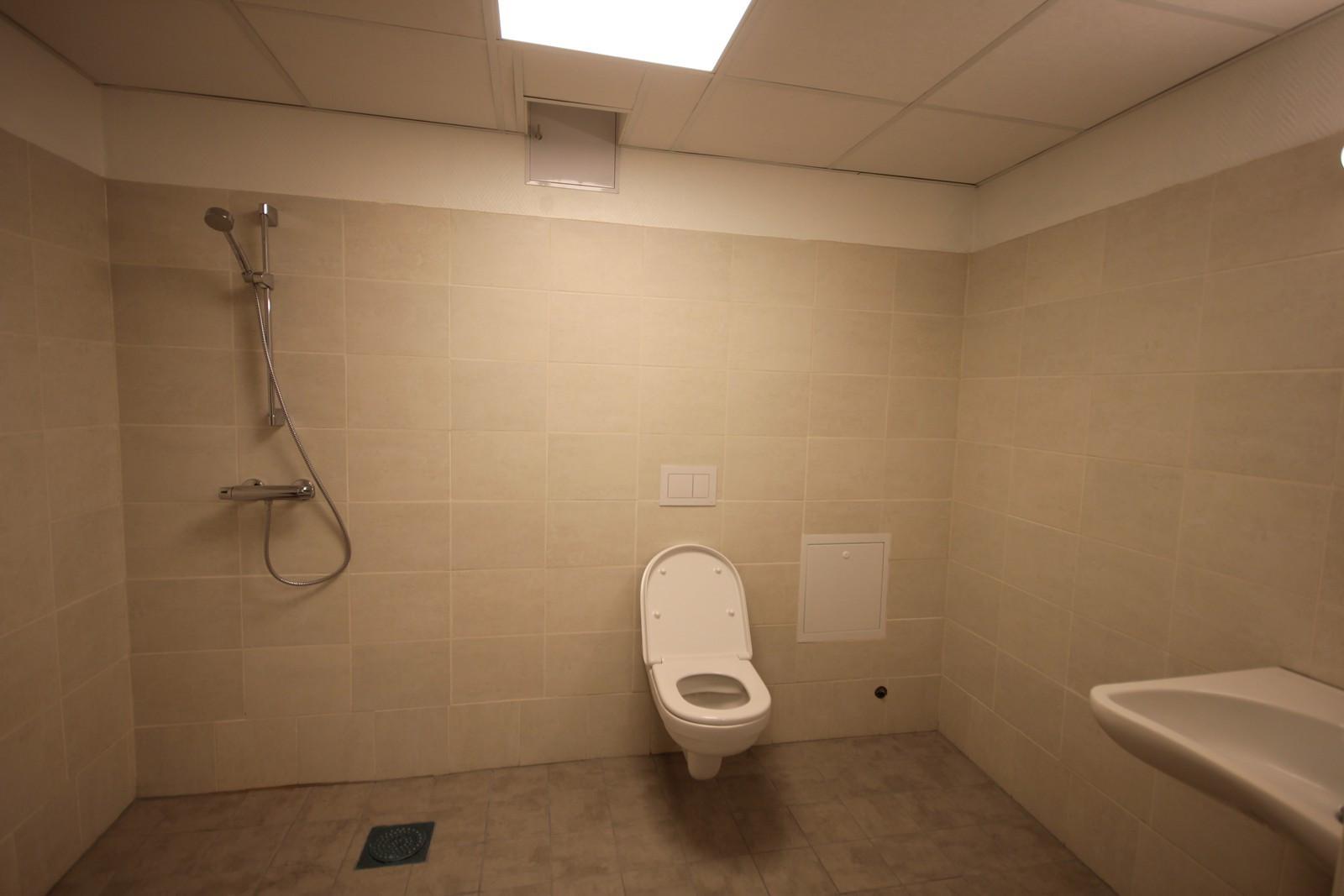 Toalett og dusj Messaninetasje
