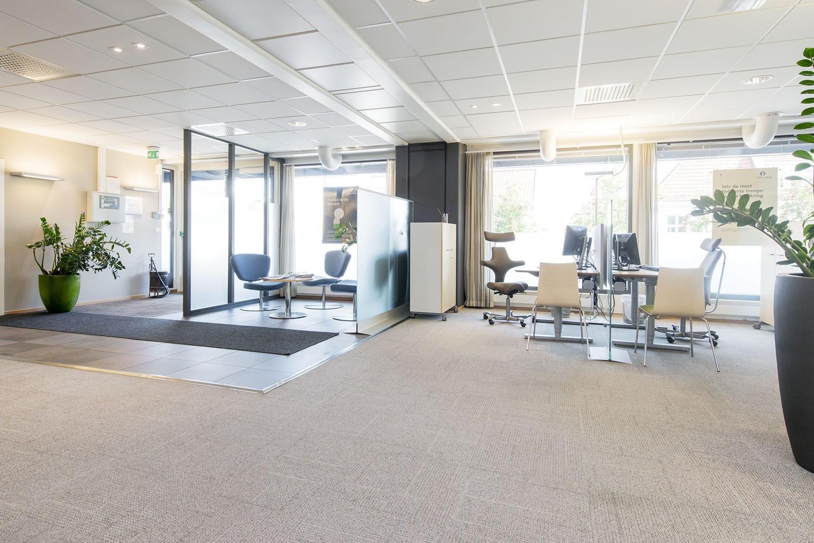 Storgata 11 - kontorlokale ledig for innflytting