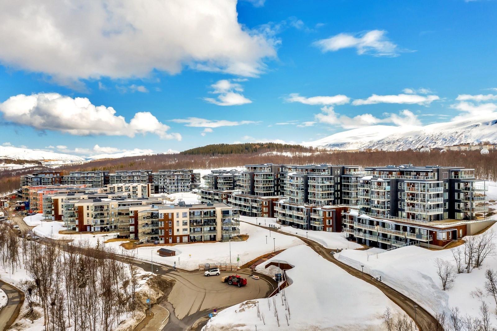 Og velkommen til en av Tromsøs nyeste bydeler; Workinntoppen!