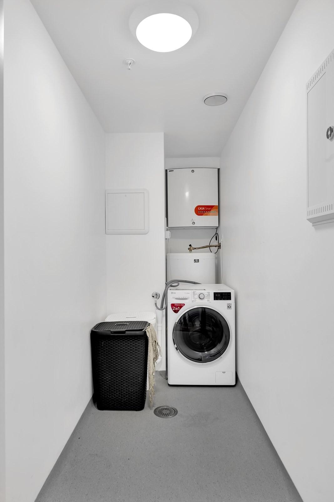 Vaskerom og bod