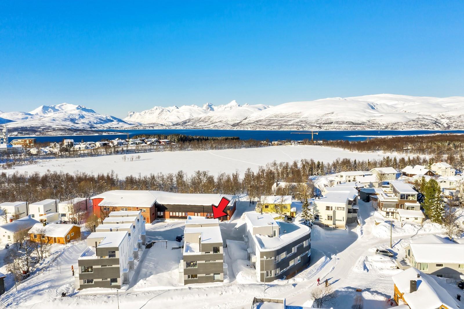 Umiddelbar nærhet til lysløype, Prestvannet og Tromsø sentrum!
