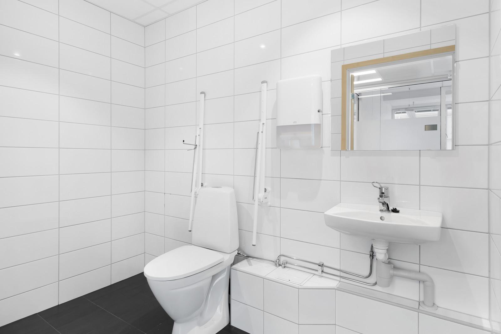 Universelt utformet WC
