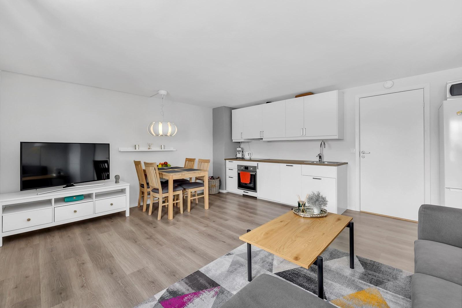 Stue / oppholdsrom leilighet underetasje