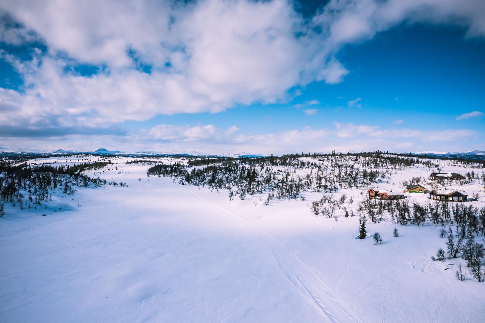 Lenningen området i Valdres er en perle sommer som vinter