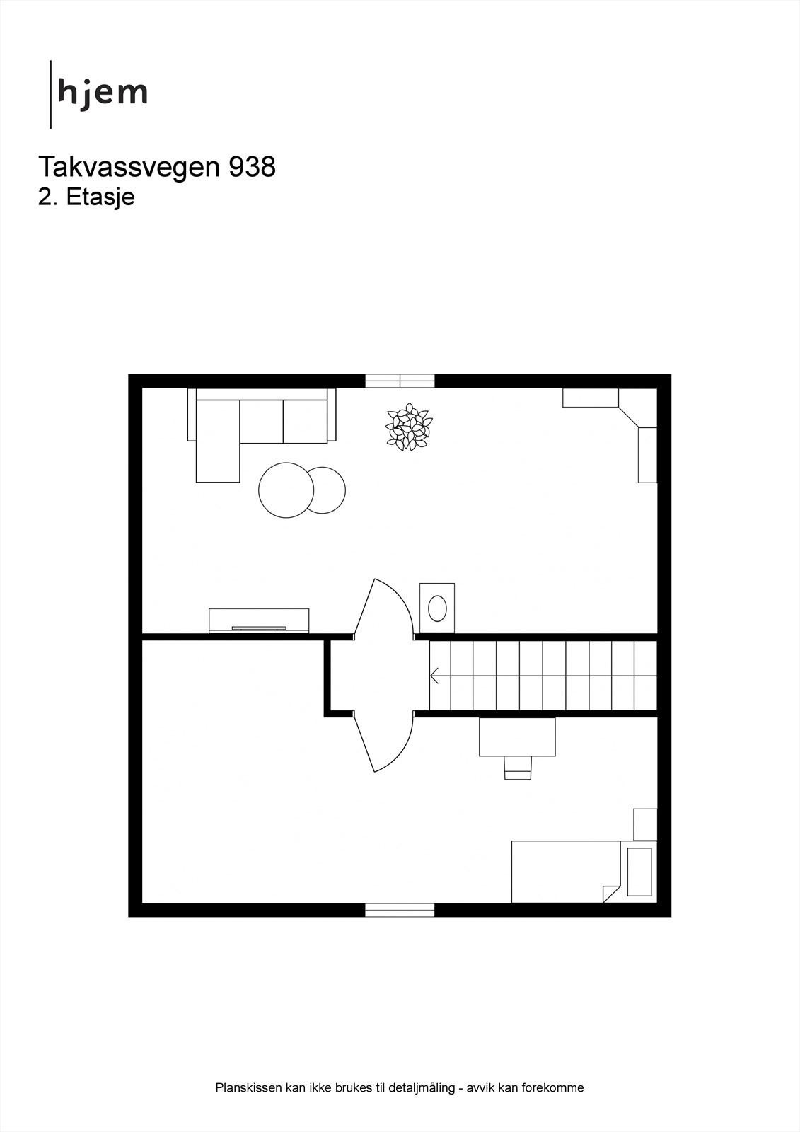 2D planillustrasjon loft
