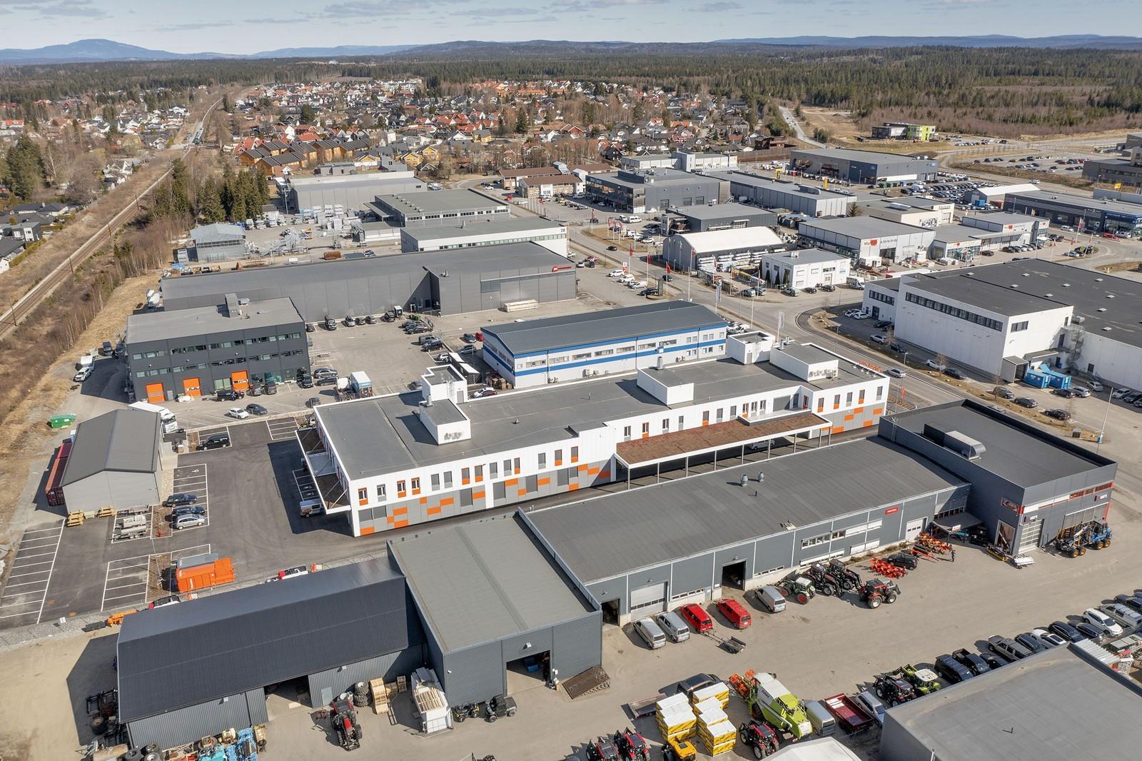 Industrivegen 18 er sentralt plassert i Jessheim Næringspark