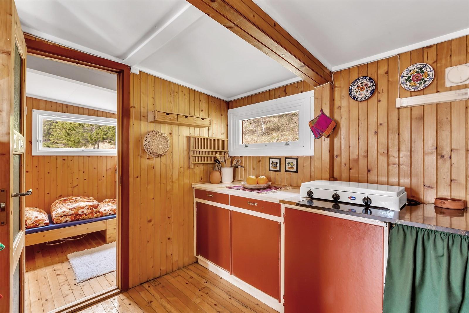 Enkelt kjøkken