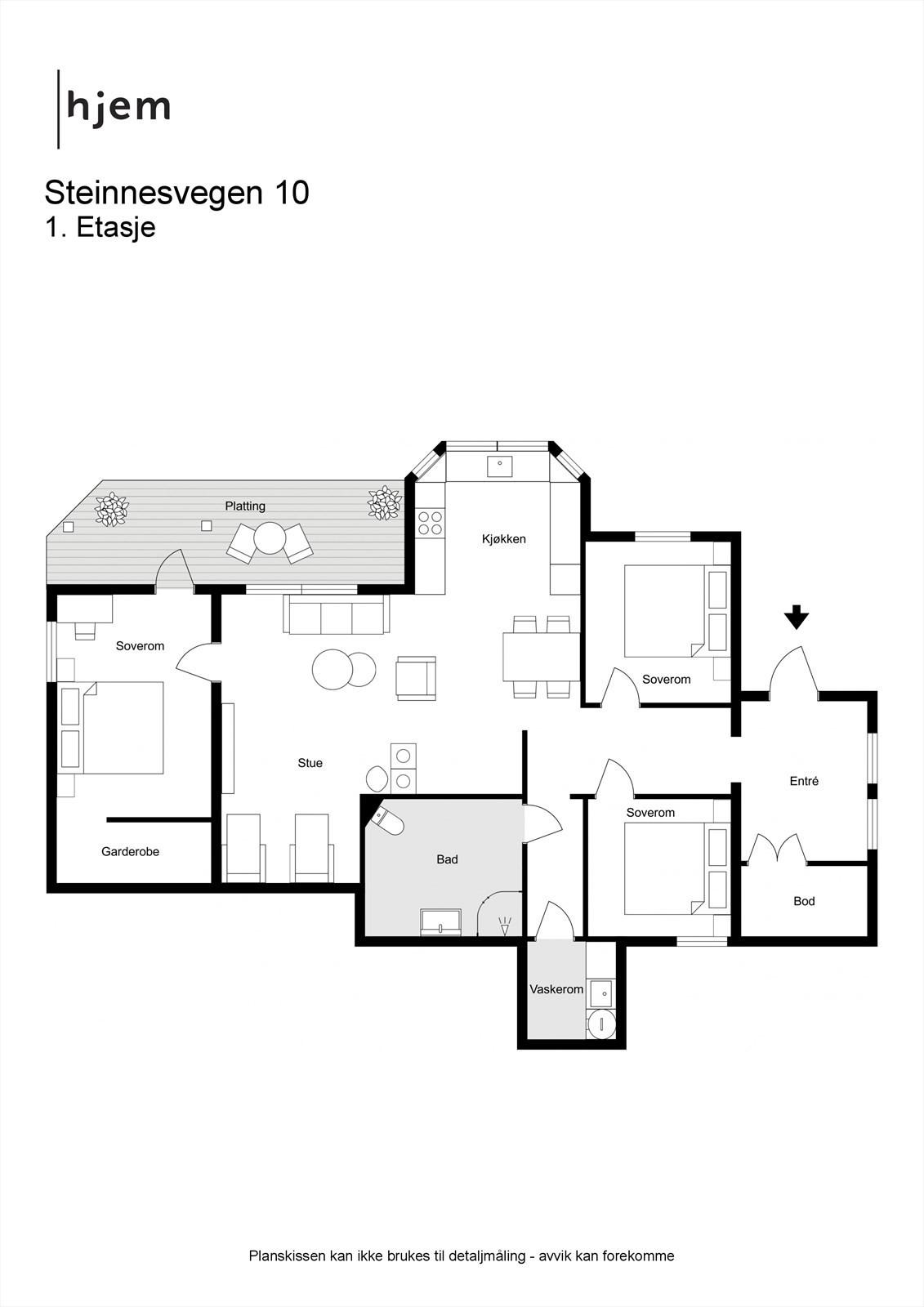 2D planillustrasjon 1.etg