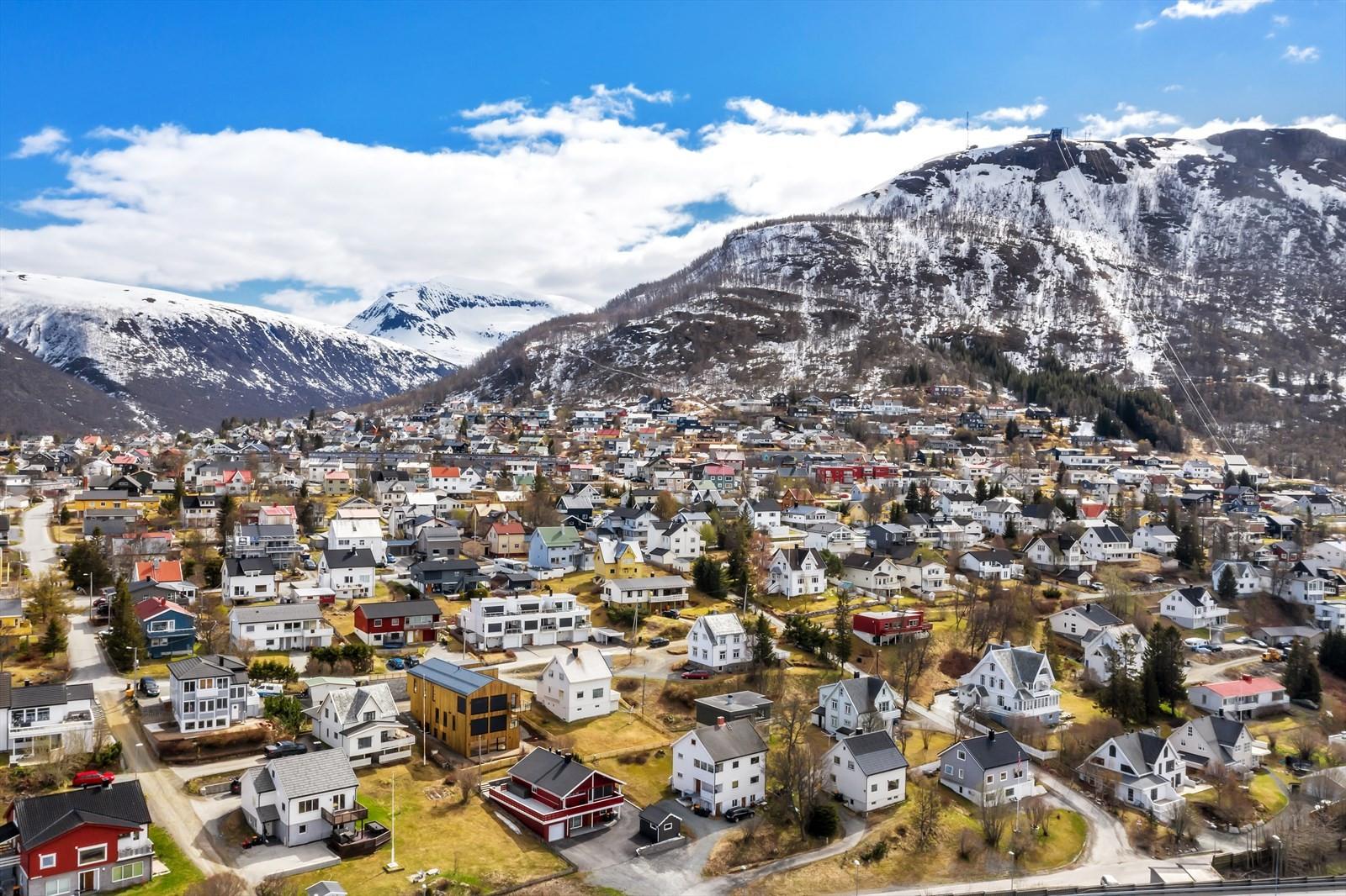 Tromsdalen gir umiddelbar adgang til flotte turområder