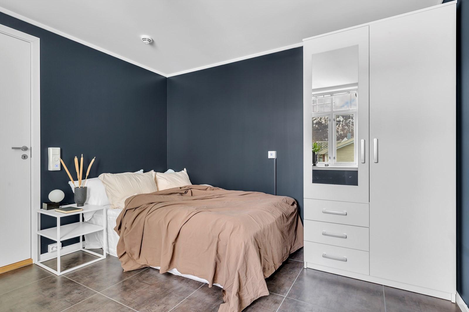Tanken med dette rommet er enten et master soverom med egen bad eller en hybel