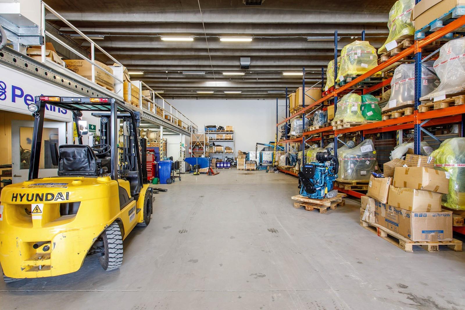 Fra kjøreport og inn i lager-verksted