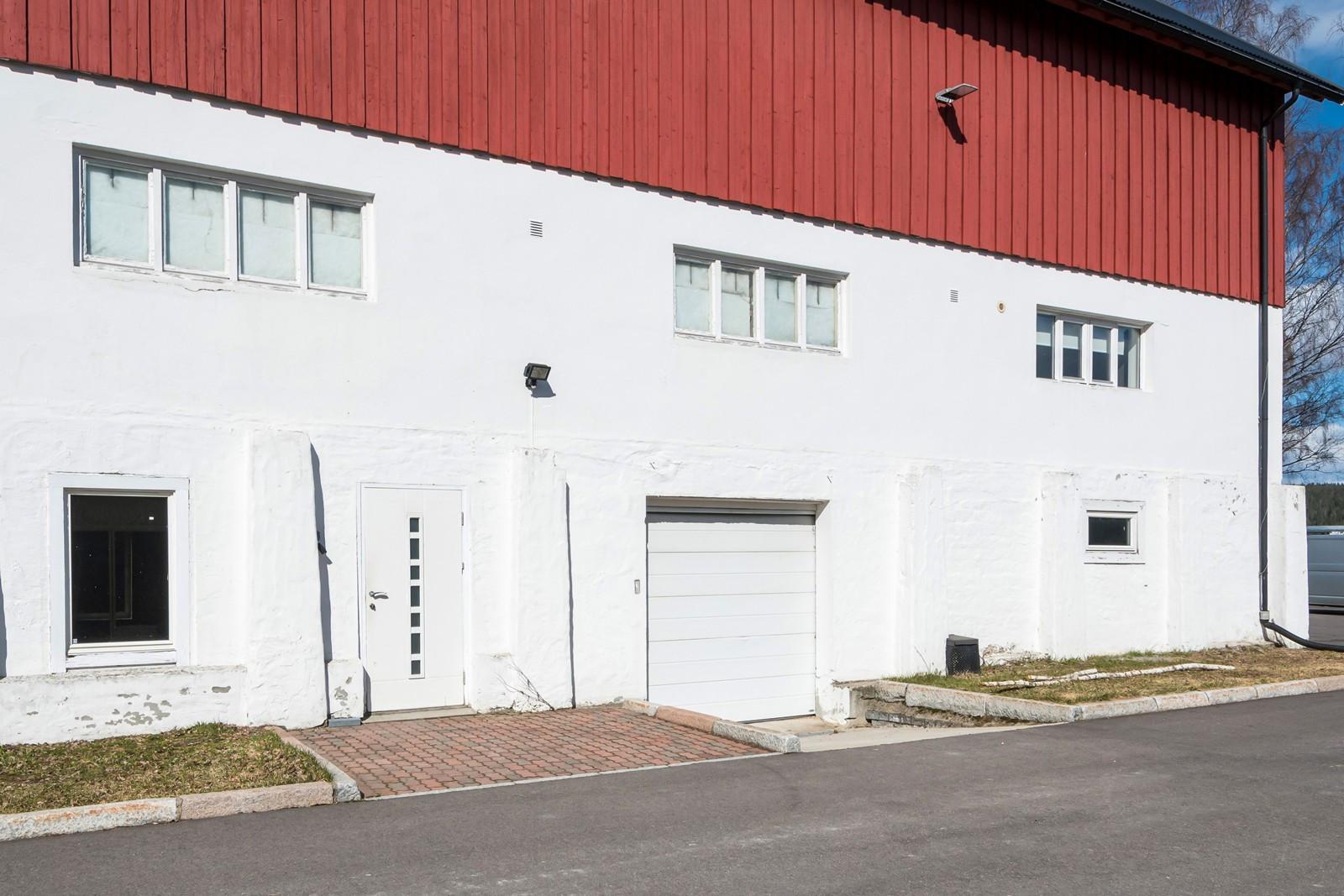 Kjøreport til lager / inngang kontor